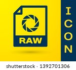 blue raw file document icon....   Shutterstock .eps vector #1392701306