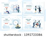 business consulting  strategic... | Shutterstock .eps vector #1392723386