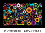 auto spare parts and gears ...   Shutterstock .eps vector #1392744656