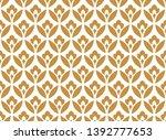 flower geometric pattern.... | Shutterstock .eps vector #1392777653
