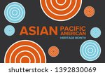 asian pacific american heritage ... | Shutterstock .eps vector #1392830069