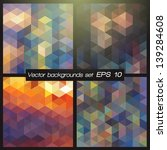 geometric patterns set.... | Shutterstock .eps vector #139284608