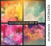 geometric patterns set.... | Shutterstock .eps vector #139284626