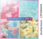 geometric patterns set.... | Shutterstock .eps vector #139284644