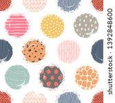 template seamless abstract...   Shutterstock .eps vector #1392848600