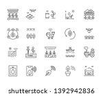 set of smart farm related...   Shutterstock .eps vector #1392942836