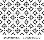 flower geometric pattern.... | Shutterstock .eps vector #1392960179