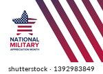 national military appreciation... | Shutterstock .eps vector #1392983849
