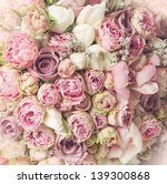 wedding bouquet with rose bush  ... | Shutterstock . vector #139300868