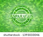 asparagus green emblem with...   Shutterstock .eps vector #1393033046
