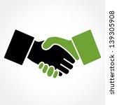 Handshake Green  Shaking Hands