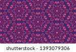 colorful leaves pattern.... | Shutterstock .eps vector #1393079306