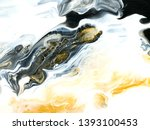black and gold creative... | Shutterstock . vector #1393100453