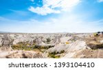 goreme national park and the... | Shutterstock . vector #1393104410