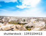 goreme national park and the... | Shutterstock . vector #1393104413