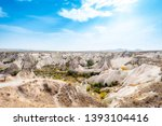 goreme national park and the... | Shutterstock . vector #1393104416