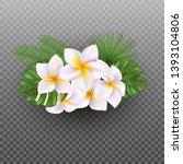 vector realistic tropical... | Shutterstock .eps vector #1393104806