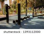 urban kid's playground... | Shutterstock . vector #1393112000