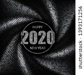 happy new year 2020 greeting... | Shutterstock .eps vector #1393171256