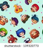 pattern illustration of... | Shutterstock . vector #139320773
