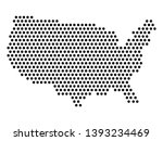 isolated dotted political map... | Shutterstock .eps vector #1393234469