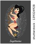 zodiac horoscope sign... | Shutterstock .eps vector #139324928