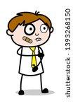 funny injured face   office... | Shutterstock .eps vector #1393268150