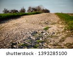 a long and stony path ... | Shutterstock . vector #1393285100