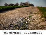 a long and stony path ... | Shutterstock . vector #1393285136