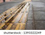 closeup tactile ground pointers ... | Shutterstock . vector #1393322249