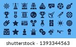 star icon set. 32 filled star...   Shutterstock .eps vector #1393344563