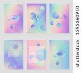 holographic paper magic foil... | Shutterstock .eps vector #1393360910