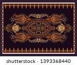 colorful ornamental vector...   Shutterstock .eps vector #1393368440