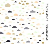 dark orange vector seamless...   Shutterstock .eps vector #1393452713