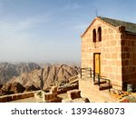 a church on the hill of mount... | Shutterstock . vector #1393468073