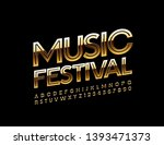 vector shiny poster music... | Shutterstock .eps vector #1393471373