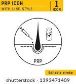 platelet rich plasma design... | Shutterstock .eps vector #1393471409
