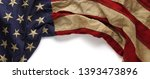 vintage red  white  and blue... | Shutterstock . vector #1393473896