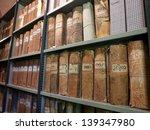 Old Vintage Files In A Storag...