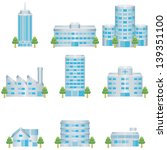 building icon | Shutterstock .eps vector #139351100