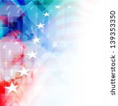 4th of july  american... | Shutterstock .eps vector #139353350