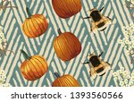 vintage beautiful and trendy... | Shutterstock . vector #1393560566