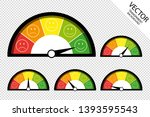 feedback speedometer  customer... | Shutterstock .eps vector #1393595543