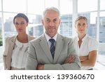 confident businessman standing... | Shutterstock . vector #139360670