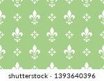flower geometric pattern.... | Shutterstock . vector #1393640396