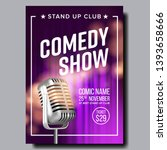Colorful Poster Of Comedy Show...
