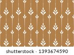 flower geometric pattern.... | Shutterstock . vector #1393674590
