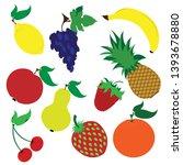 painted vector illustration... | Shutterstock .eps vector #1393678880