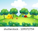 illustration of the camping... | Shutterstock .eps vector #139372754