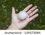 Giant Hailstone Measuring 5.5c...